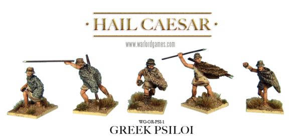 28mm Warlord Games Miniatures Hail Caesar Later Greek Peltasts