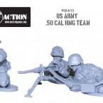 New: Bolt Action US Army M2 50 Cal HMG team!