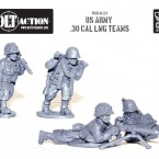 New: Bolt Action US Army 30 Cal LMG teams!