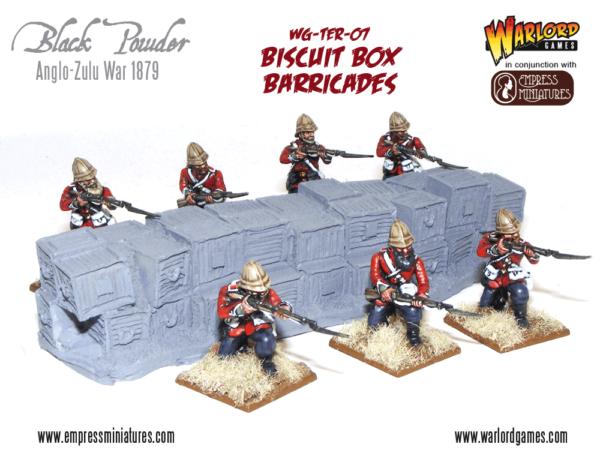 Biscuit Box barricade set