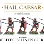 New: Hoplites in linen cuirass!
