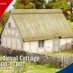 New: Plastic Medieval Cottage 1300-1700!