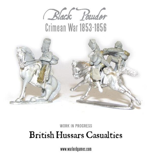 British Crimean Hussars Casualties