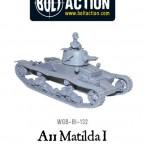 New: A11 Matilda I infantry tank!