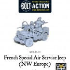 New: Bolt Action French SAS Jeeps!