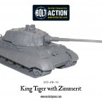 New: Bolt Action King Tiger with zimmerit!
