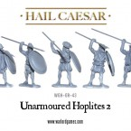 New: More unarmoured hoplites!