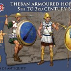 New: Plastic Theban armoured Hoplites!