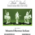 New: Mounted Shawnee Indians!