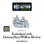 New: Bolt Action Kettenkrad with German Heer/Waffen-SS crew!