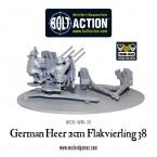 New: Bolt Action German Heer 2cm Flakvierling 38!
