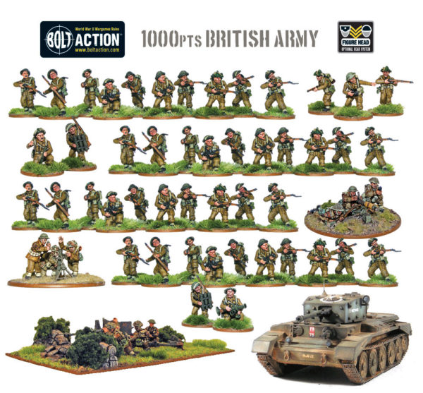 Bolt Action Starter Army: British -  Warlord Games