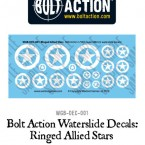 New: Bolt Action Decal sheets!