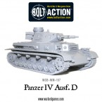 New: Bolt Action Panzer IV ausf D!