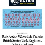 New: More Bolt Action waterslide decals!