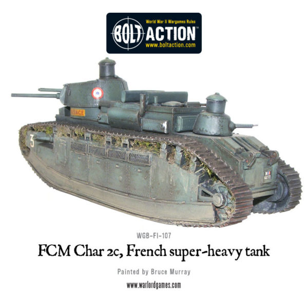 Char 2c FCM, French Super-heavy tank