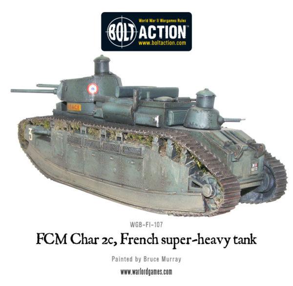 Char 2c FCM, French Super-heavy tank