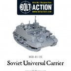 New: Bolt Action Soviet Carrier!