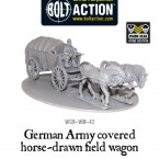 New: Bolt Action covered German Field Wagon!