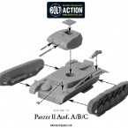 German Panzer II Ausf.A/B/C – Construction Diagram