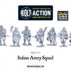 New: Bolt Action Italian Army!