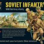 New: Plastic Bolt Action Soviet Infantry!