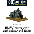 New: Bolt Action German Heer Motorcycles!