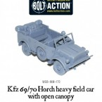 New: Open-topped Bolt Action Kfz 69/70 Horch field car!