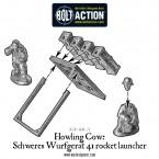 German Howling Cow Schweres Wurfgerat 41 rocket launcher – Construction Diagram