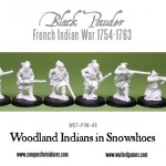 New: Woodland Indians in Snowshoes!