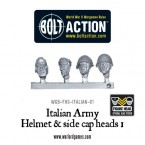 New: Bolt Action Italian Army Figure Heads!