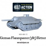New: Bolt Action Flammpanzer (38t) Hetzer!