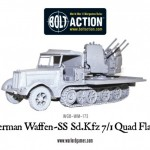 New: Bolt Action Waffen-SS Sd.Kfz 7/1 quad flakwagen!