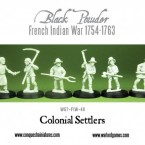 New: Conquest Colonial Settlers!