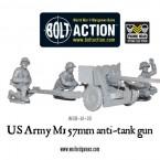 New: US Army M1 57mm anti-tank gun!