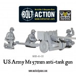 New: US Army M1 57mm anti-tank gun!