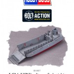 Plastic LCM3 USN landing craft back in stock
