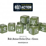 Bolt Action Orders Dice are back!
