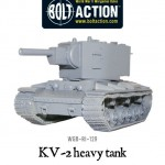 New: Soviet KV-2 heavy tank
