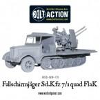New: Fallschirmjager Sd.Kfz 7/1 quad FlaK