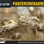 New: Bolt Action plastic German Panzergrenadier! boxed set!
