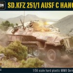 New: Plastic Bolt Action Sd.Kfz 251/1 ausf C Hanomag!