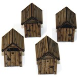 New: Pre-painted 4Ground out buildings