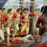 New: Plastic American War of Independence British Infantry 1775-1783