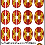 New: Caesarian Roman shield transfers