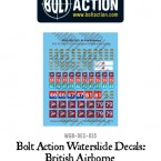 New: Bolt Action Infantry decals