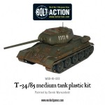 Pre-order: Plastic Soviet T34/85