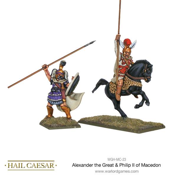 Alexander the Great and Philip II of Macedon