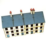 28mm Pre-painted Three Storey Terrace Street