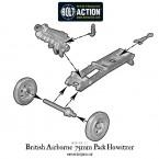 British Airborne 75mm Pack Howitzer – Construction Diagram